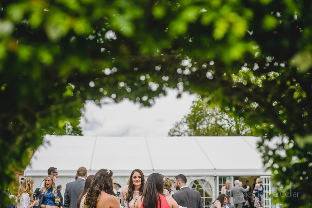 Hilltop Country House Marquee Wedding