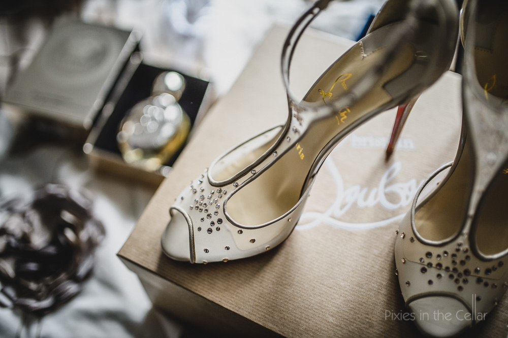 christain louboutin wedding shoes