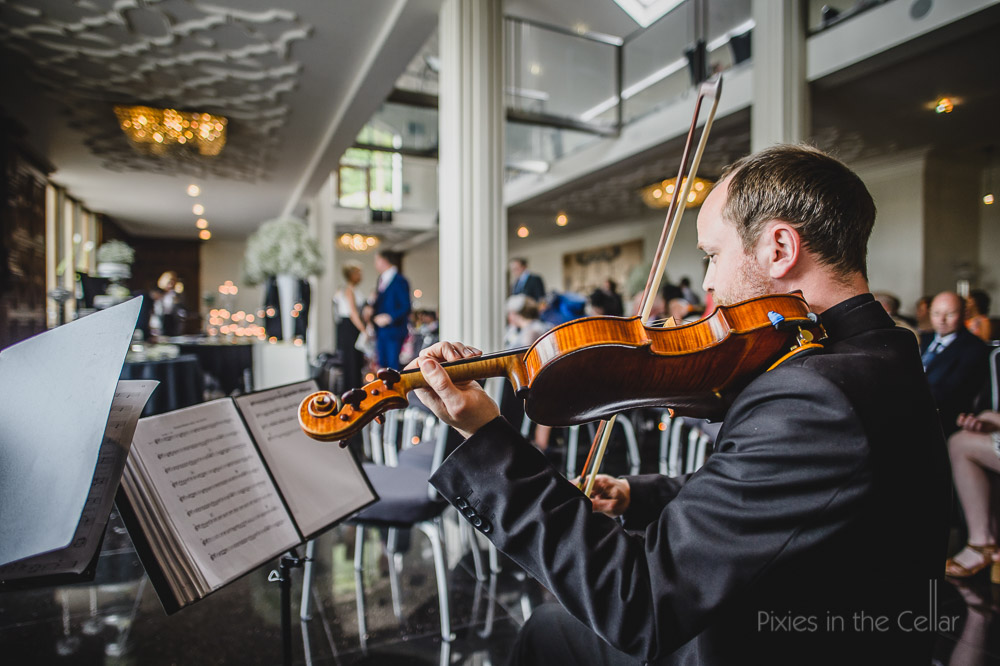 string quartet wedding Saddleworth hotel ballroom
