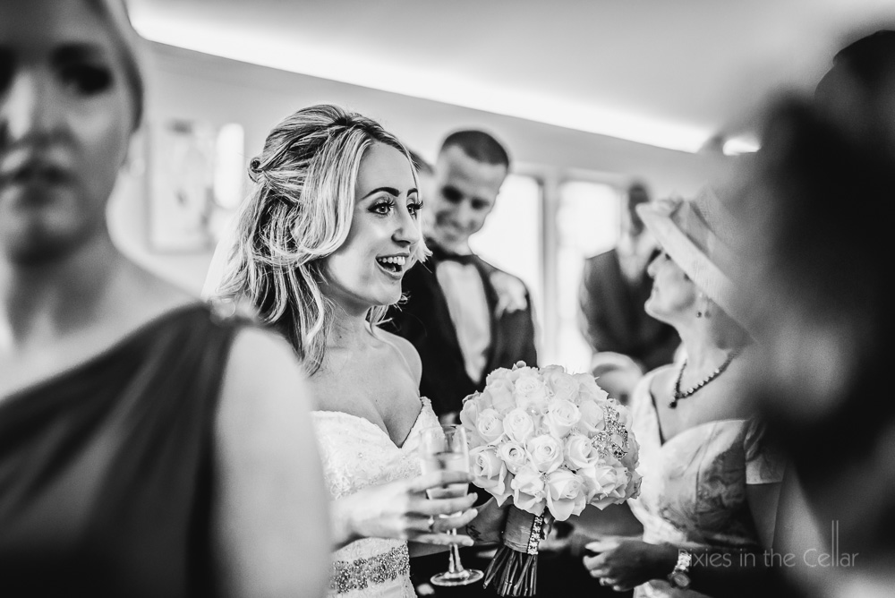 natural documentary wedding photography saddleworth bride