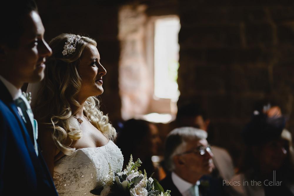 English wedding ceremony