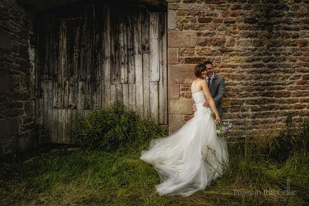 Lancashire wedding couple