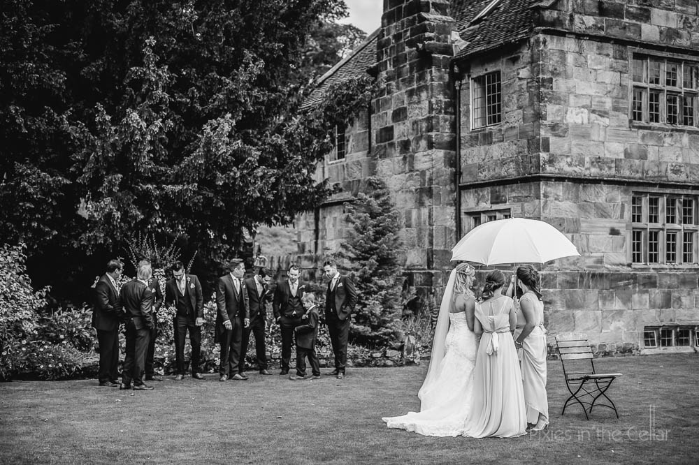 bridal party The ashes wedding venue