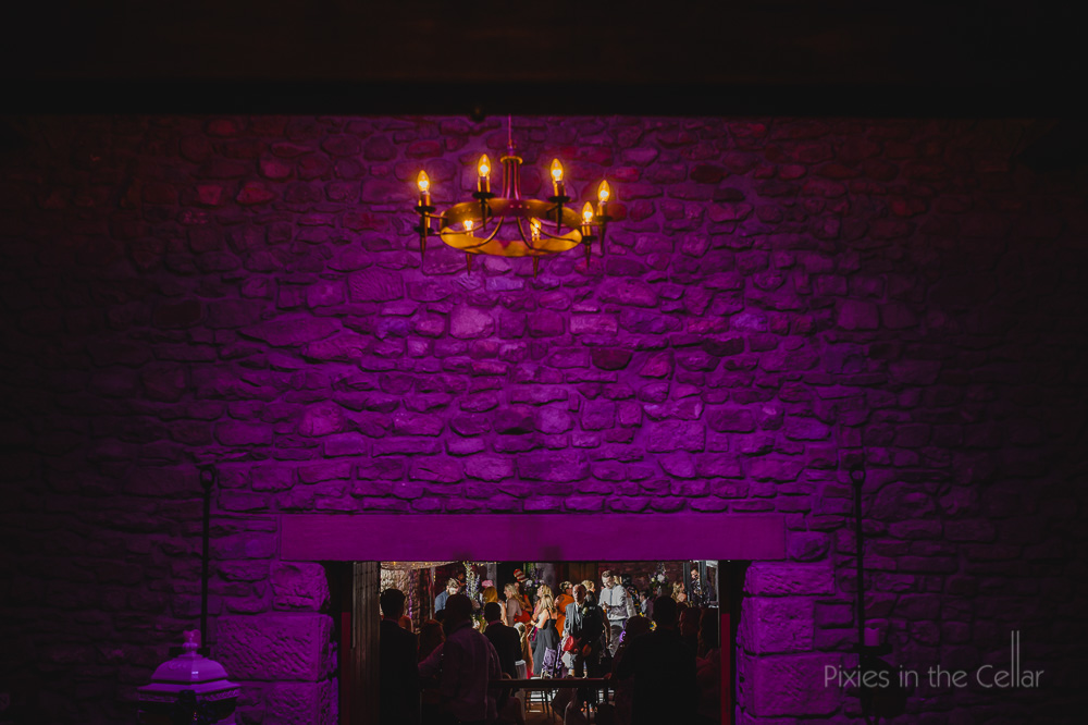 Tithe Barn Wedding evening party