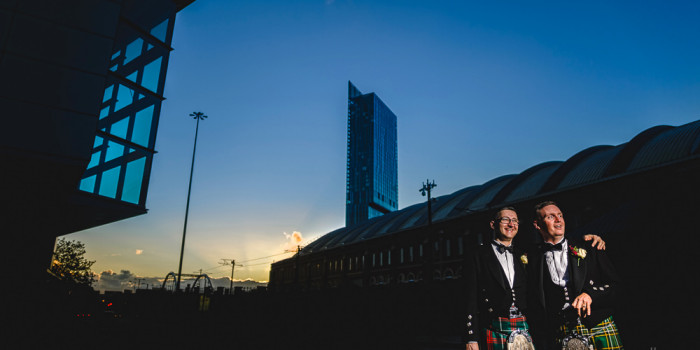 Gay wedding photography Manchester