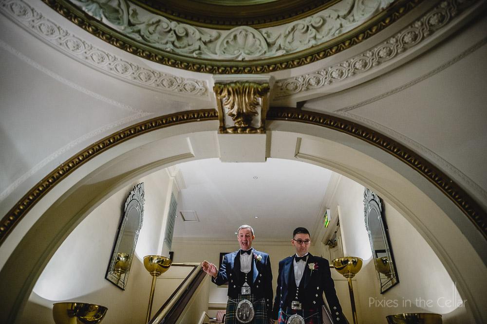 manchester gay wedding midland hotel