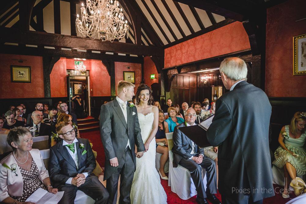 Mere court hotel wedding ceremony