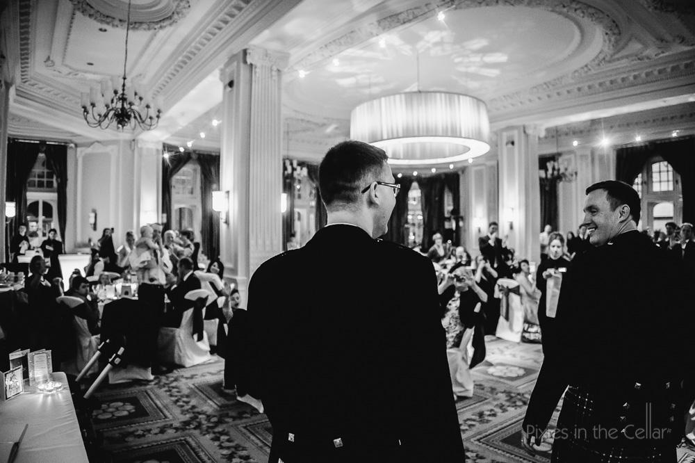 trafford suite wedding entrance gay wedding photography