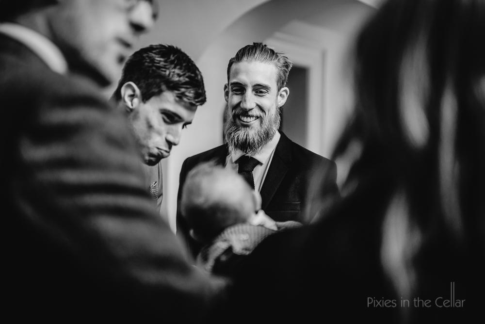 wedding guest beard