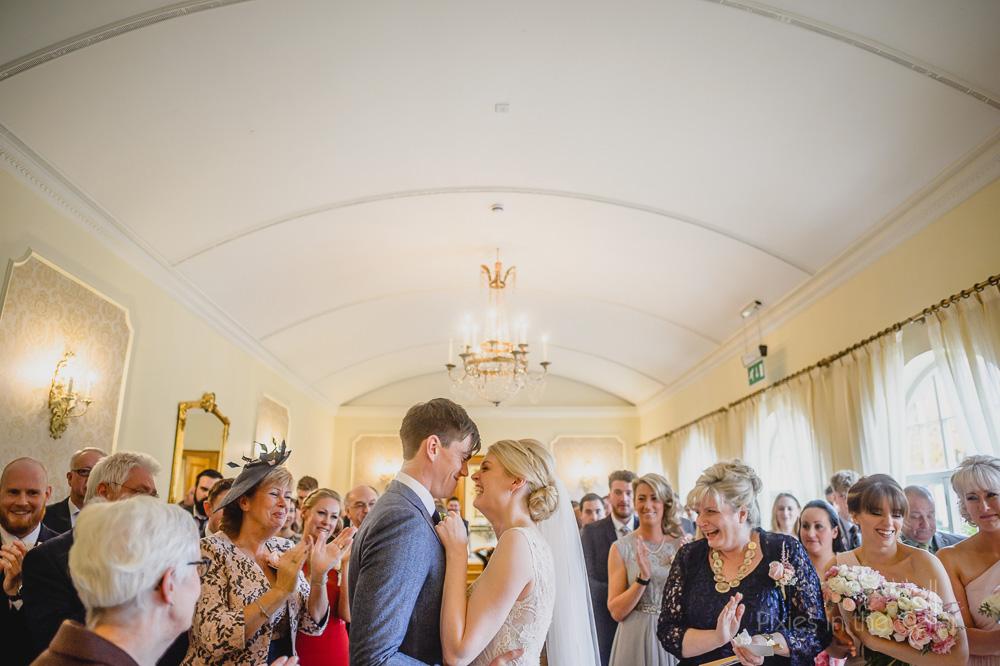 wedding ceremony alrewas hayes