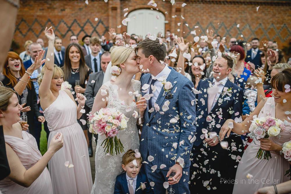 Confetti Alrewas Hayes Wedding Photography