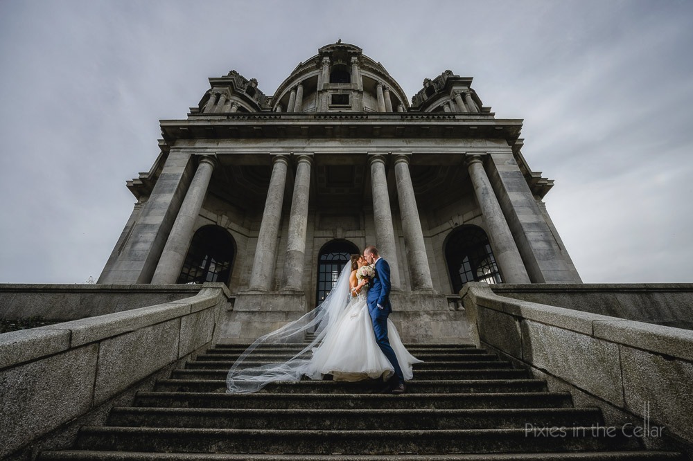 Ashton memorial bride groom