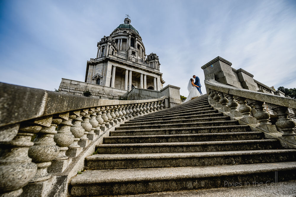 ashton memorial Lancaster wedding photography