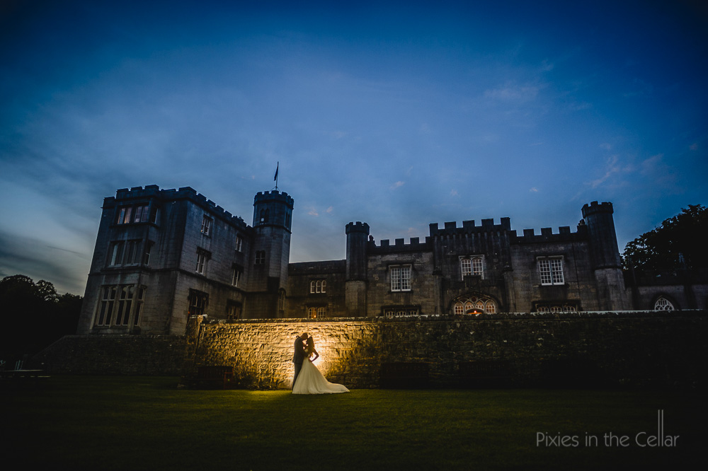 leighton hall estate wedding photography