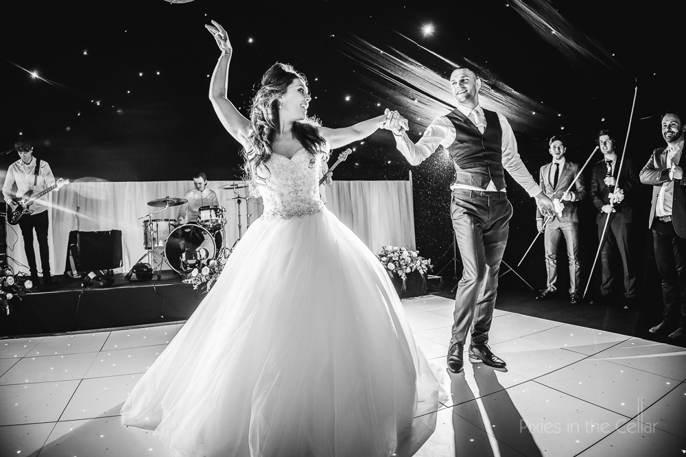 first dance leighton hall marquee