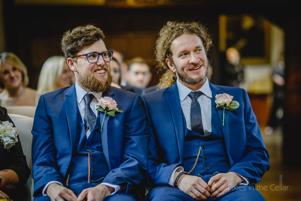 best men blue suits