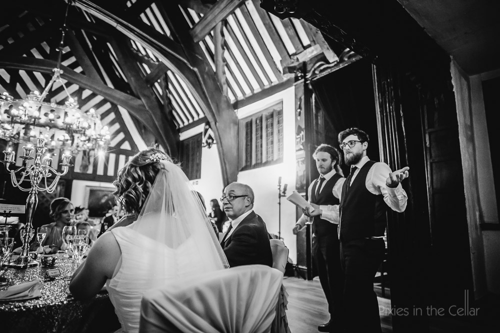 Samlesbury hall wedding speeches