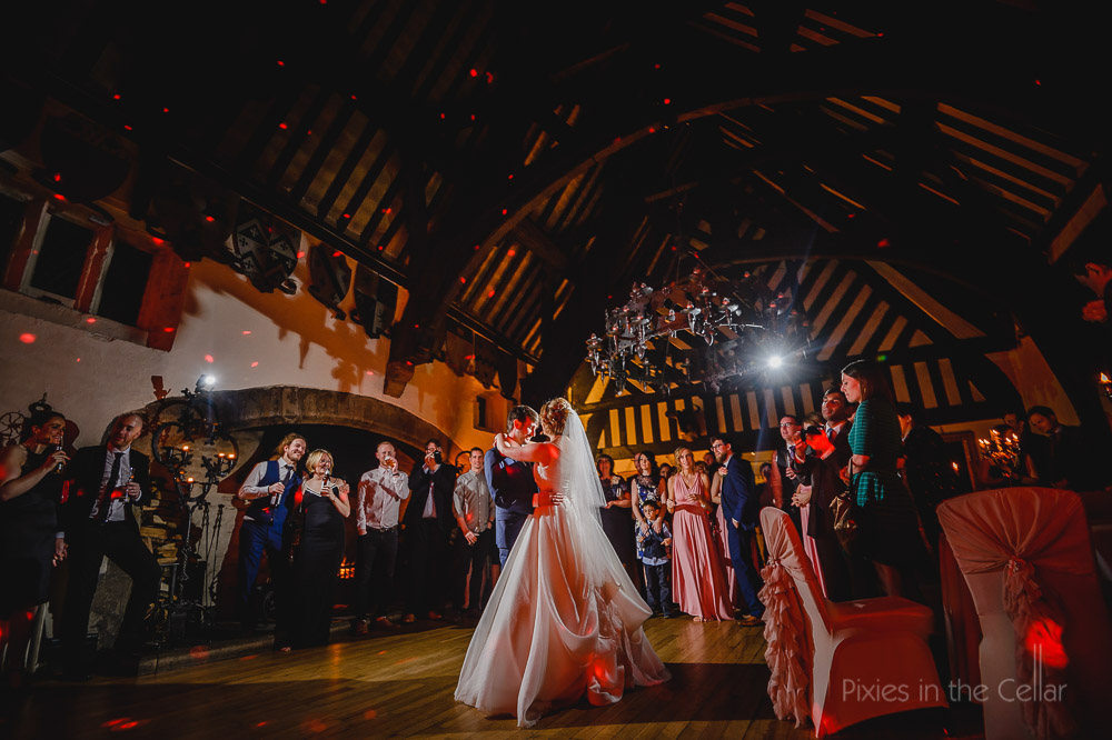 Samlesbury Hall first Dance