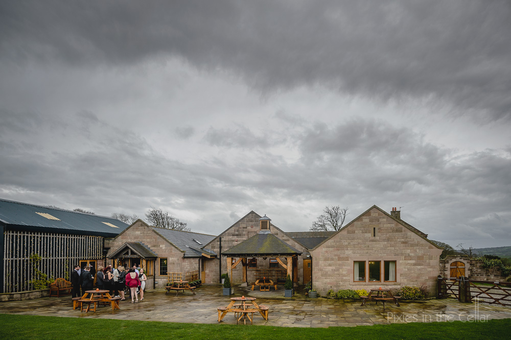 heaton house farm winter wedding