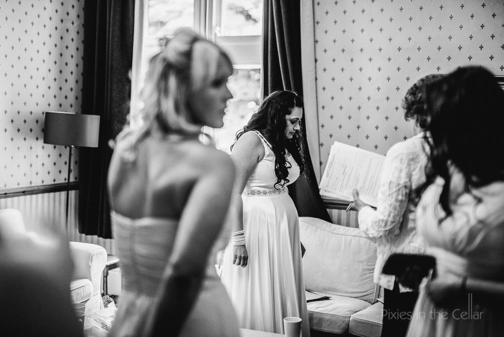 bride hargate hall apartment