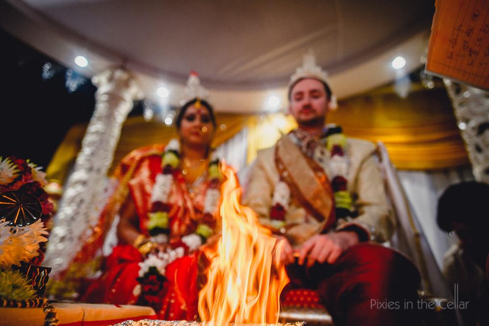 hindu wedding fire