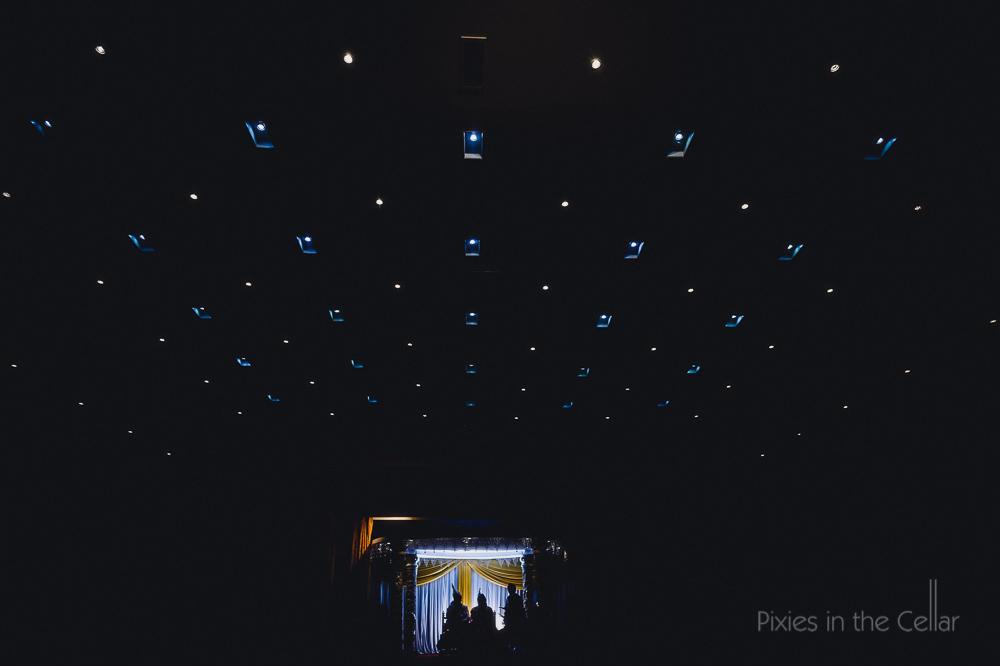 hindu wedding ceremony silhouette photo