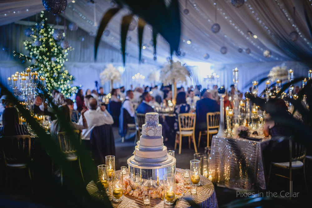 winter wedding reception heaton house farm