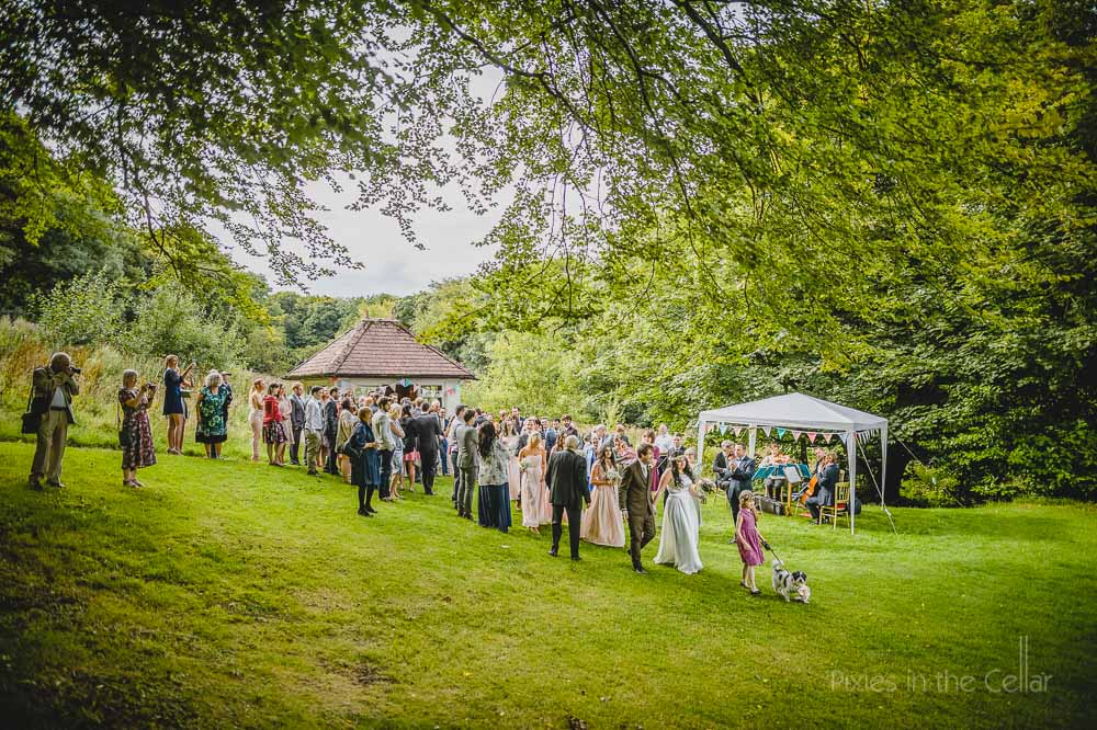 summer wedding hargate hall buxton