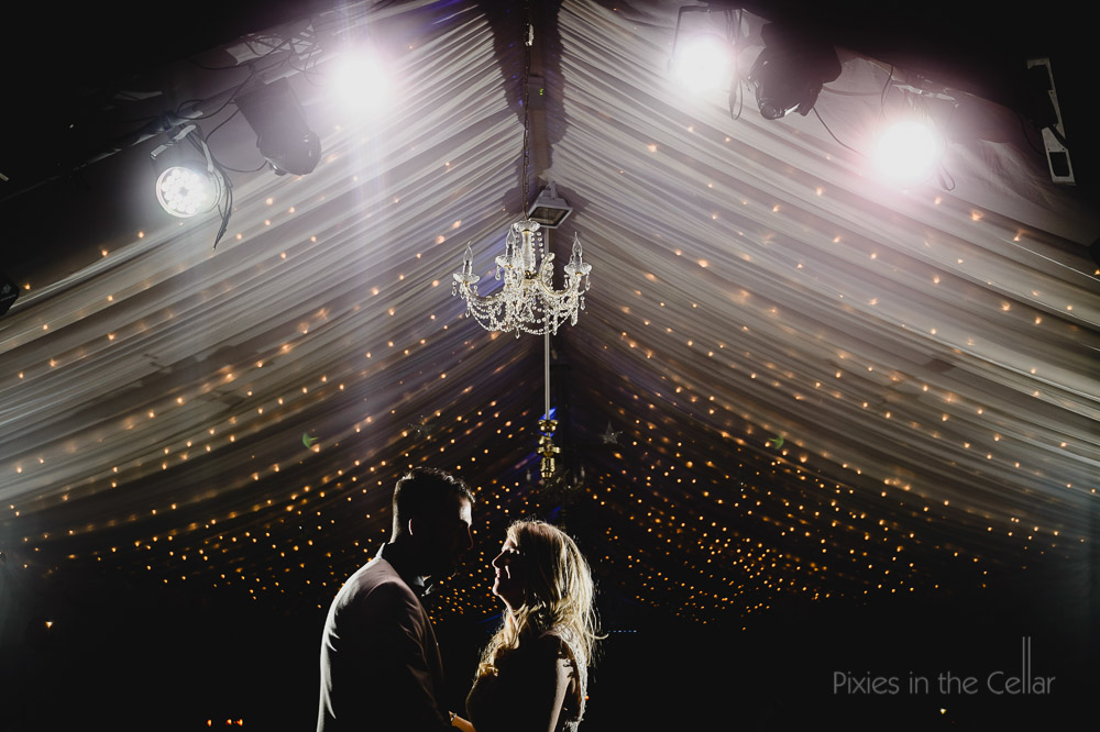 first dance fairy lights