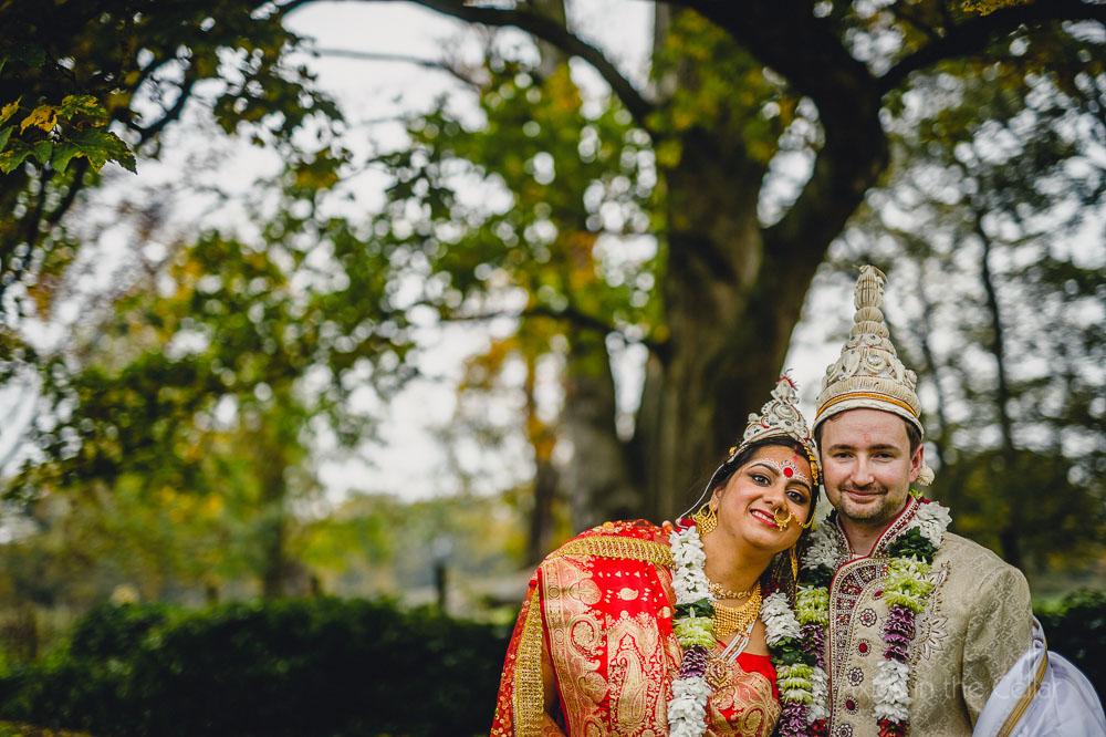English Bengali couple