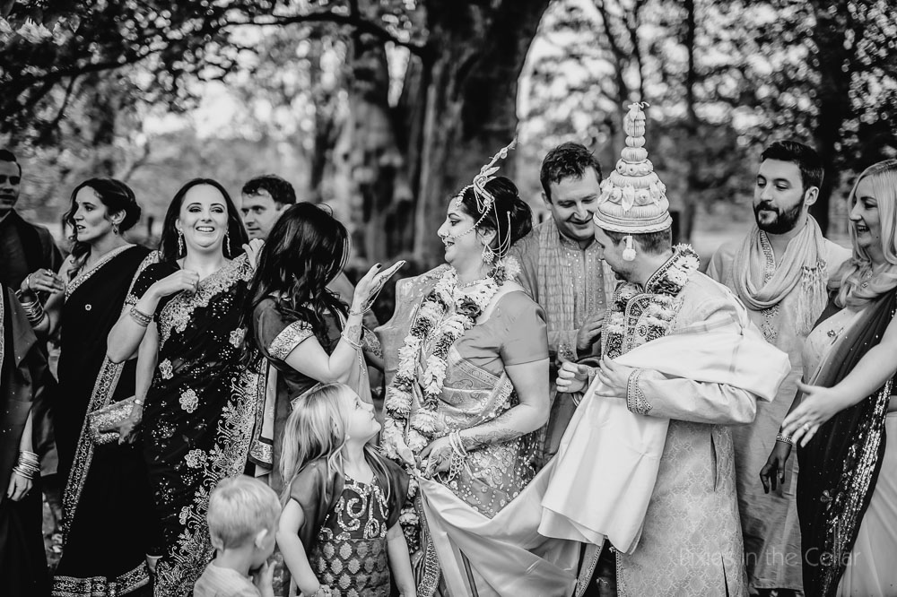 hindu wedding chaos