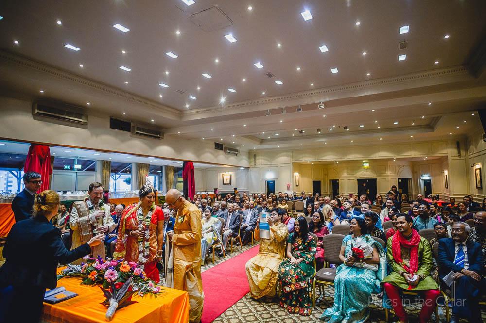 Lancashire Indian wedding ceremony