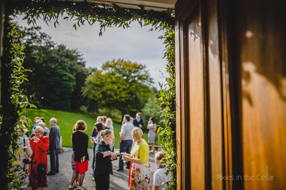 summer wedding hargate hall