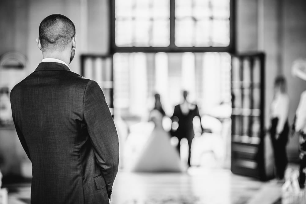 Arrival of bride