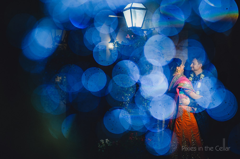 hindu wedding photography night time