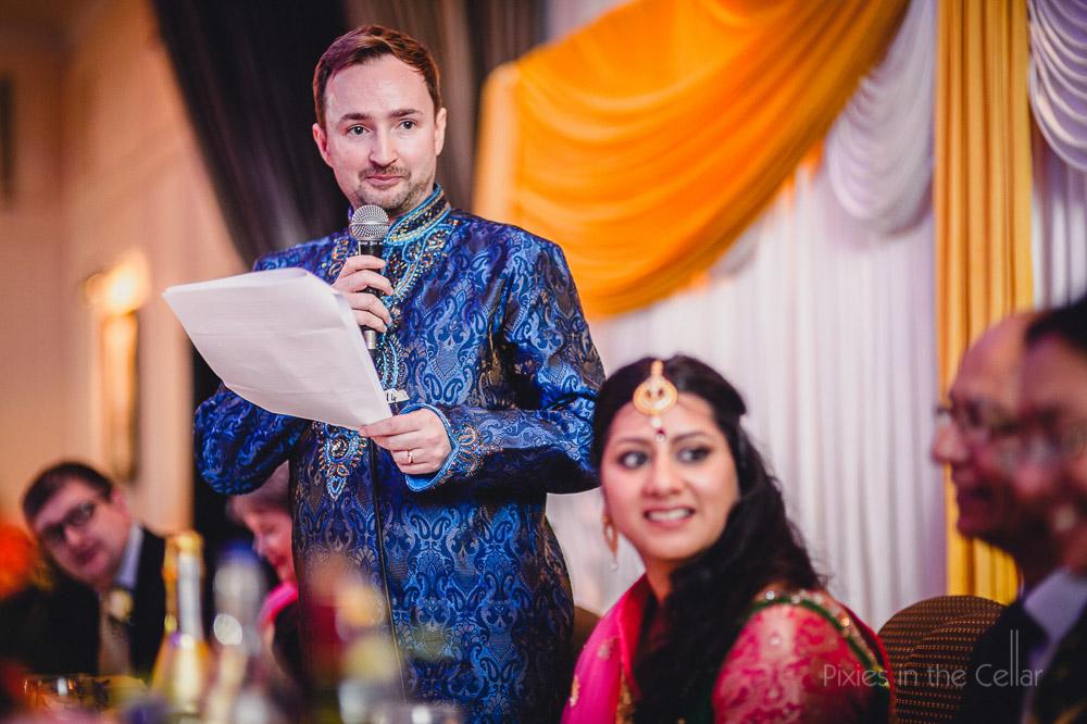groom wedding speech manchester