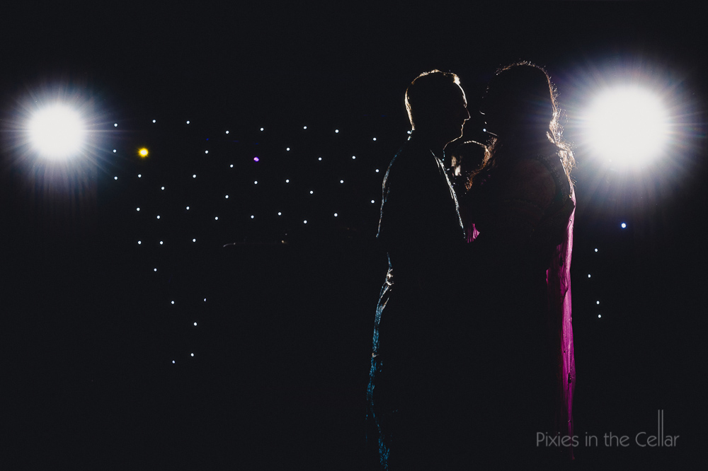 wedding first dance starlights