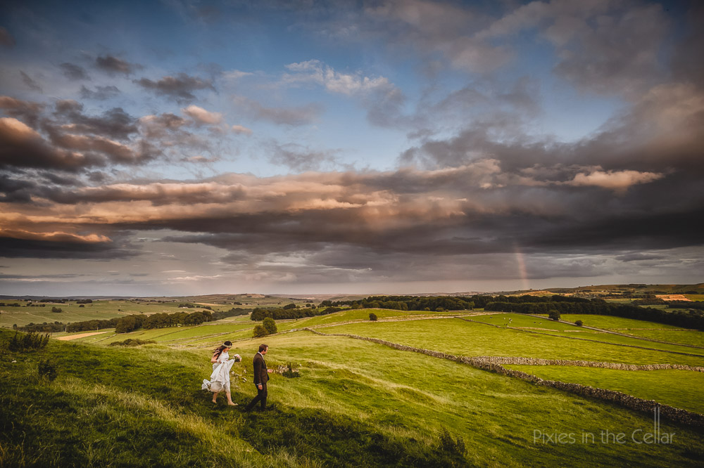 hargate hall wedding photographer peak district landscape