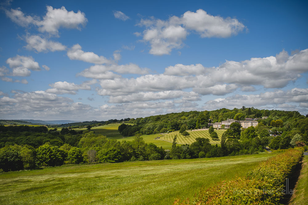 wood hall hotel view across wharfe valley yorkshire