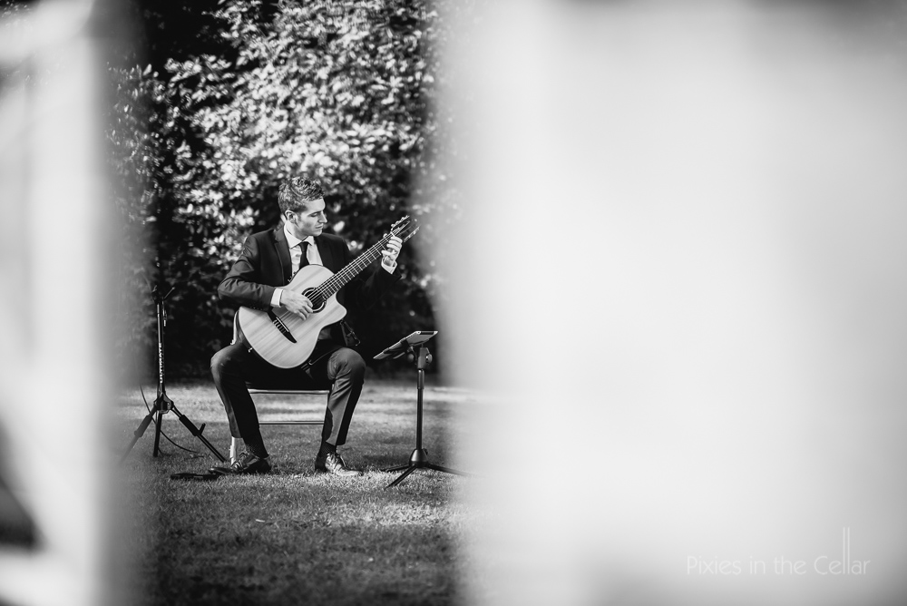 classical guitarist at wedding