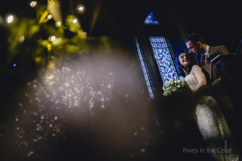 mitton hall winter wedding photography