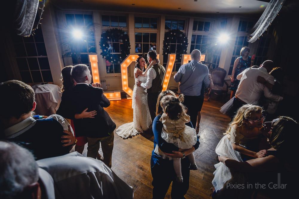 mitton hall wedding dancing
