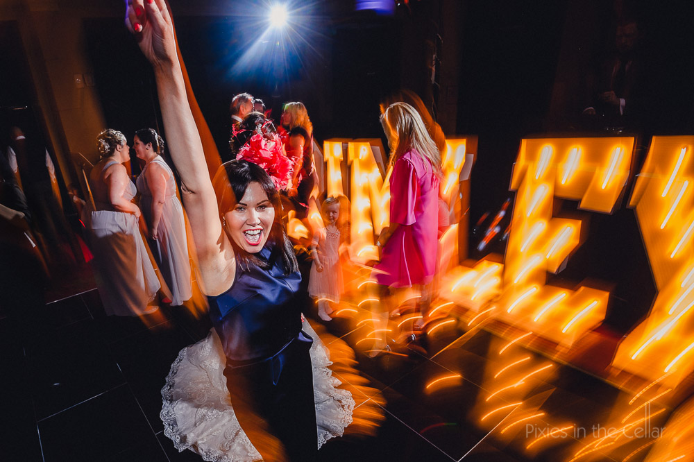 wedding guest party dancing