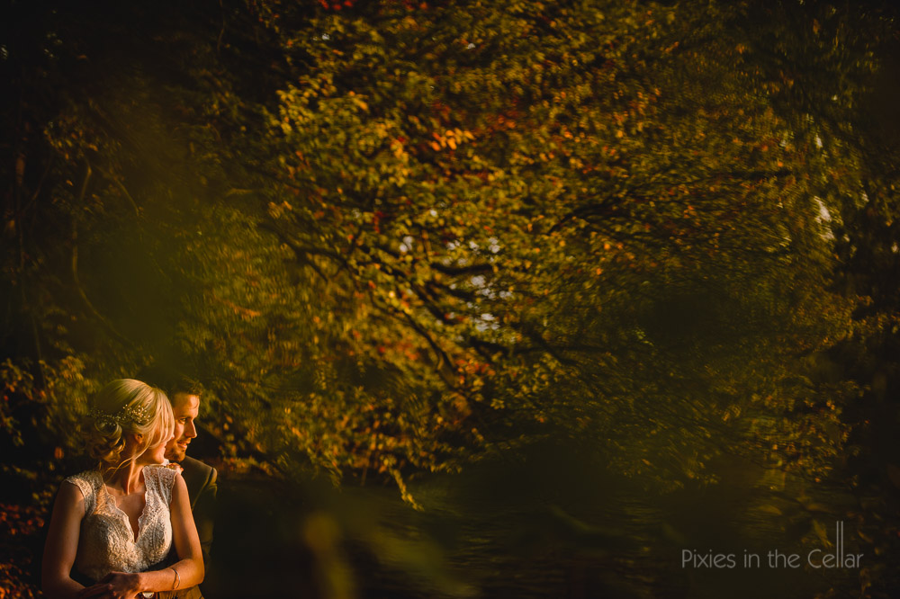 golden light wedding photography