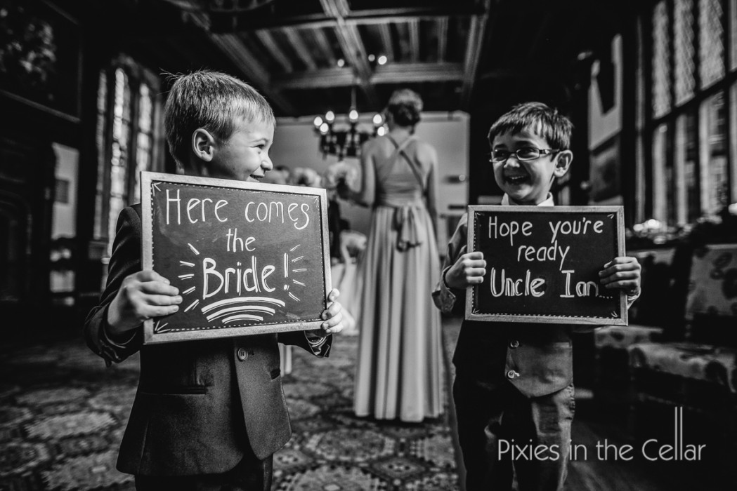 wedding aisle signs