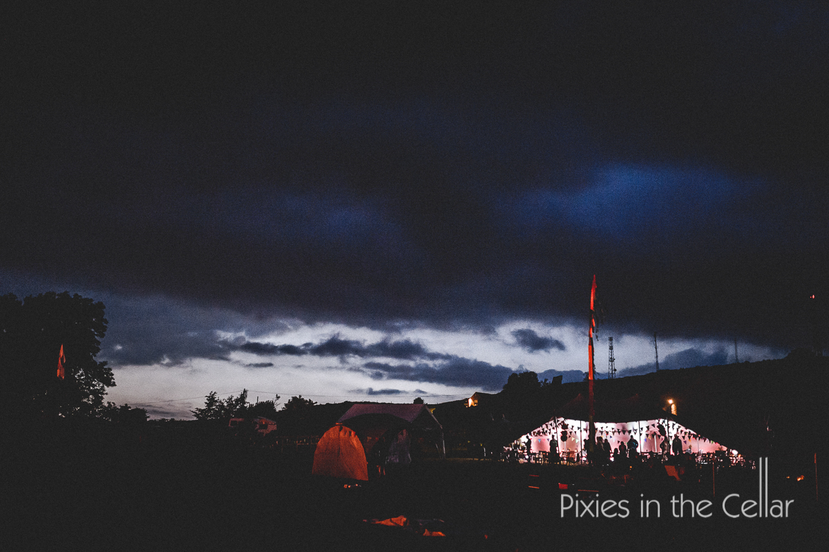 stretch tent rustic outdoor wedding venues
