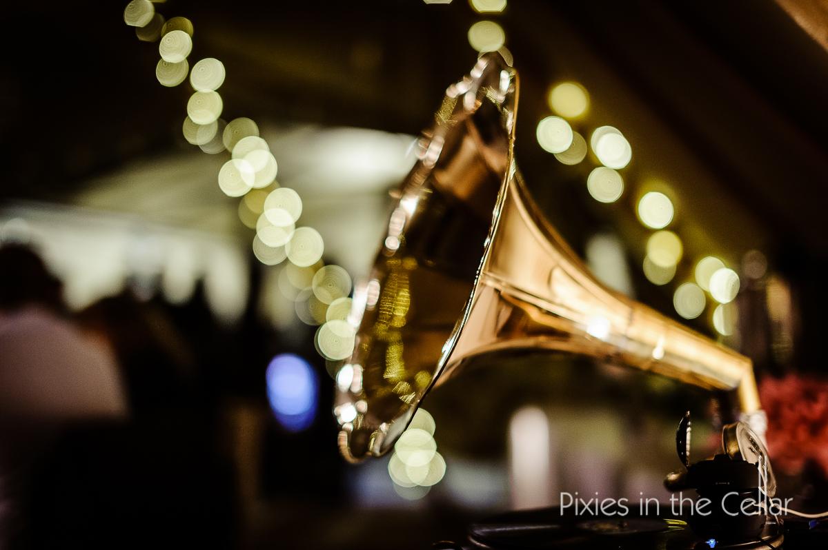 wedding gramaphone