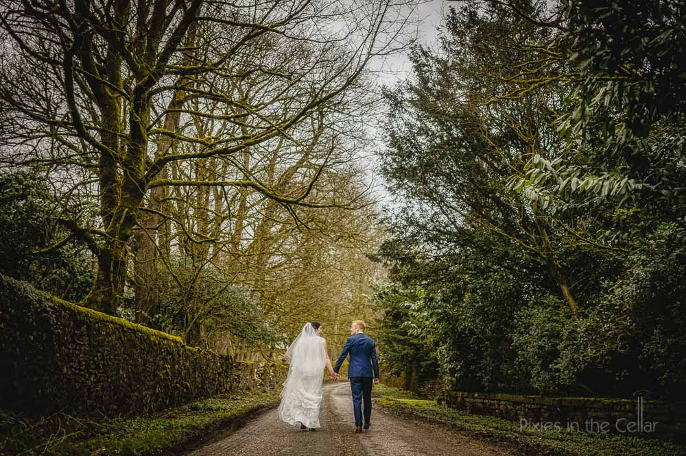 Hargate Hall spring wedding