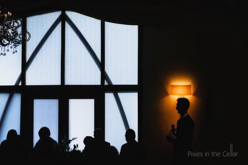 best man wedding speech silhouette