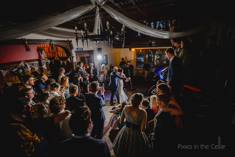 hargate hall wedding photography first dance